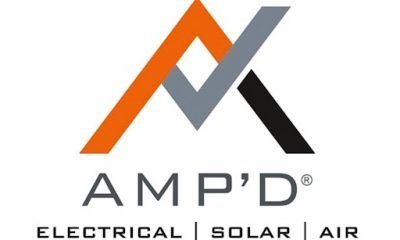 amp'd electrical logo
