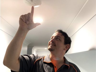 gold coast smoke detector installation
