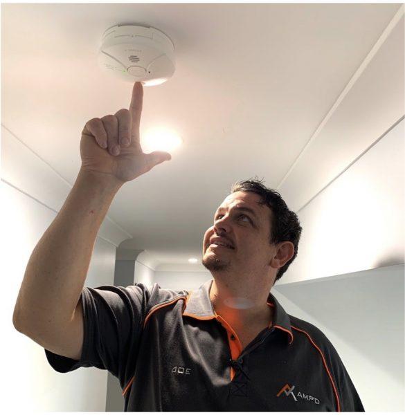 gold coast smoke detector installation